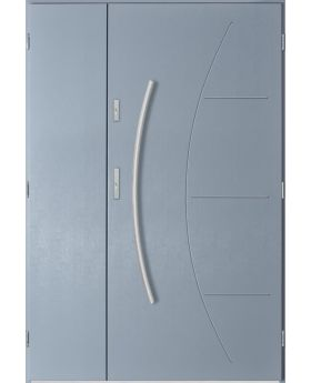 Linx Uno - double steel entry door
