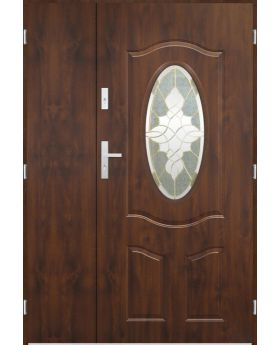 Sta Lupus Uno - classic external entrance door