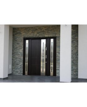 Fargo 26 T - solid entrance door + 2 side panels