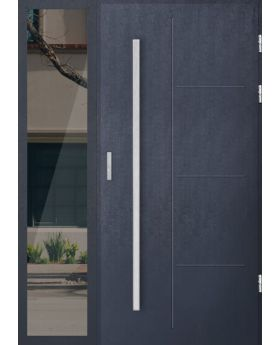 custom configuration - STA door with left sidelight (view from the outside)